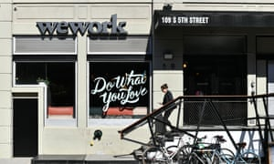 WeWork said in a statement: 'We have zero tolerance for discrimination of any kind.'