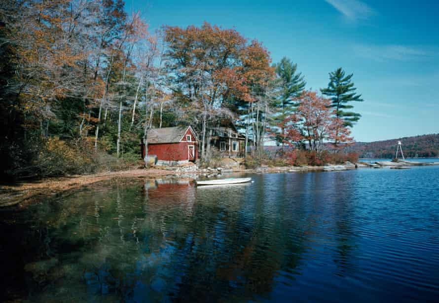 A remote New Hampshire cabin