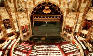 The London Coliseum, home of the ENO.