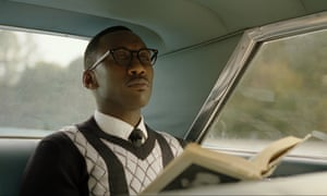 Nominated for best supporting actor … Mahershala Ali in Green Book.