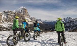 Fat bike Dolomites