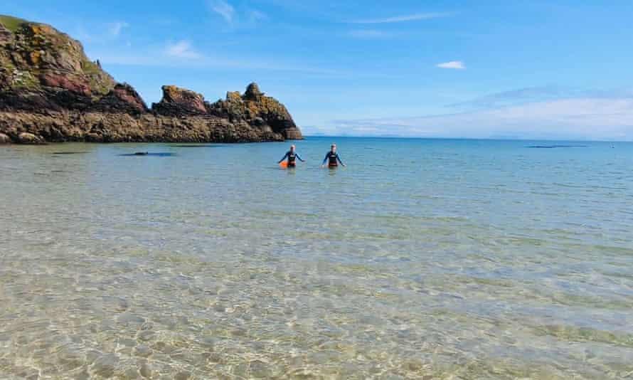 Sea swimming in the Hebrides