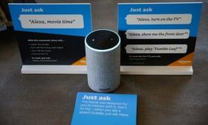 Amazon???s Alexa personal assistant.