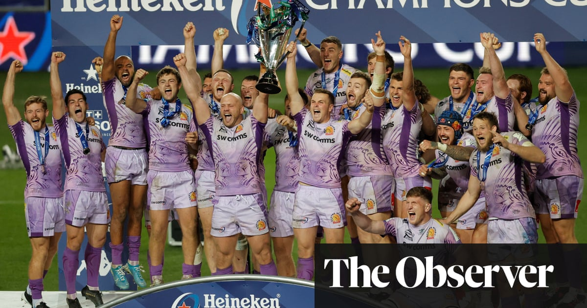 Exeter are European champions after dramatic final against Racing 92
