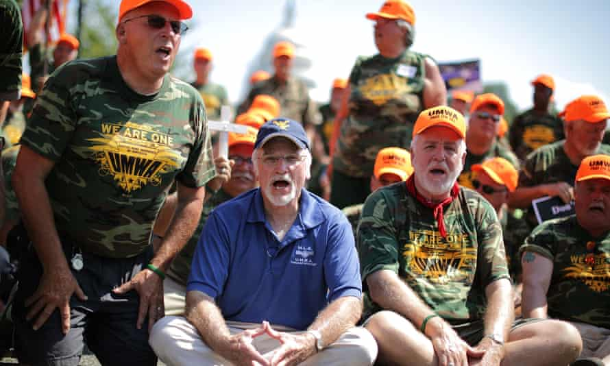 The United Mine Workers of America president, Cecil Roberts, said: 'Community support for the strikers is growing, and now their struggle is gaining nationwide attention.'