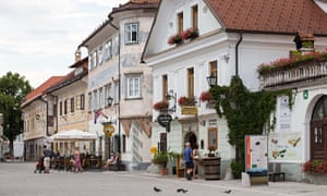 Mediaeval buildings in Radovljica