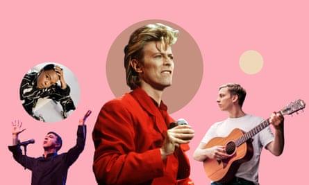 Lauryn Hill, Soft Cell's Marc Almond, David Bowie, George Ezra