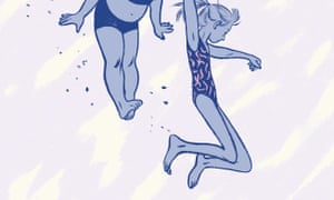 detail from the cover of This One Summer by Jillian and Mariko Tamaki