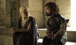 Dany and Tyrion, who finally set sail for Westeros.