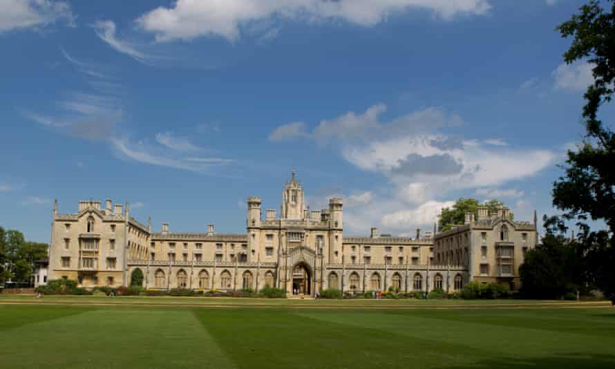 Gardens at St John's College, Cambridge, UK, which will host productions of Romeo and Juliet and Richard III.