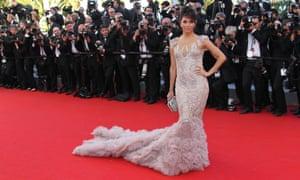 Eva Longoria at the premiere of Moonrise Kingdom, Cannes 2012