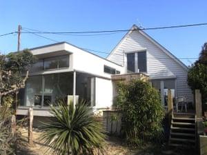 Viv Albertine's former home in Pett Level, East Sussex