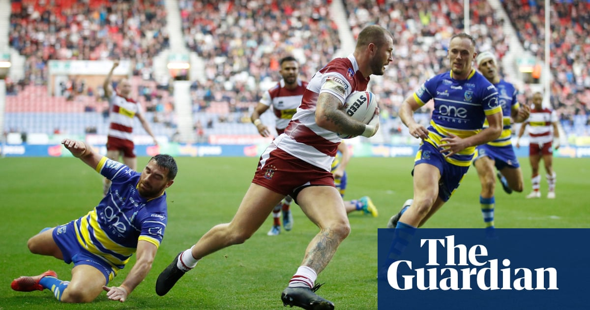 Warrington's horrendous build-up to Wembley final continues at Wigan