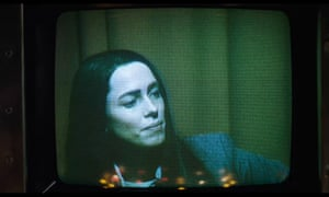 Rebecca Hall in Christine: from coldness to devastation.