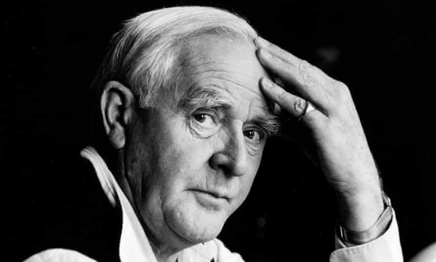 'I have tried to make a theatre for the larger worlds we inhabit' … John le Carré.