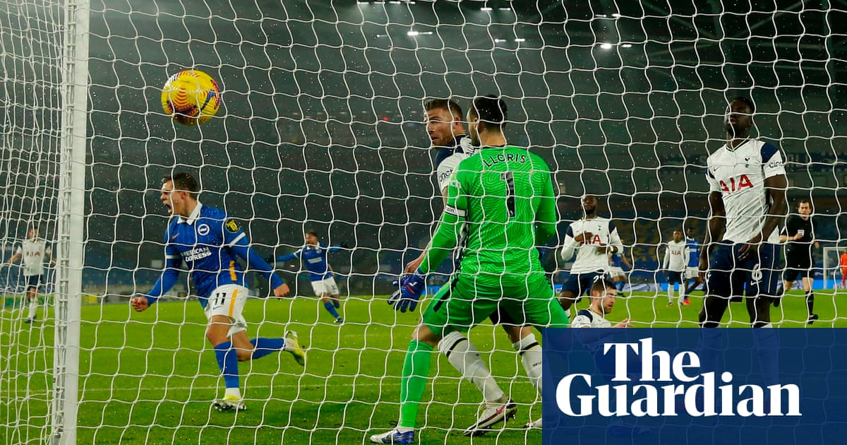 Trossard earns Brighton first home win of season against Tottenham