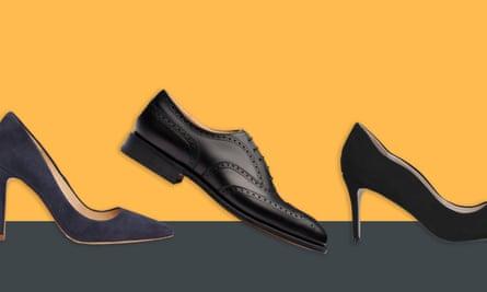 Shoes by LK Bennett, Chetwynd and Kurt Geiger