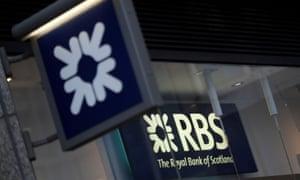 A branch of Royal Bank of Scotland