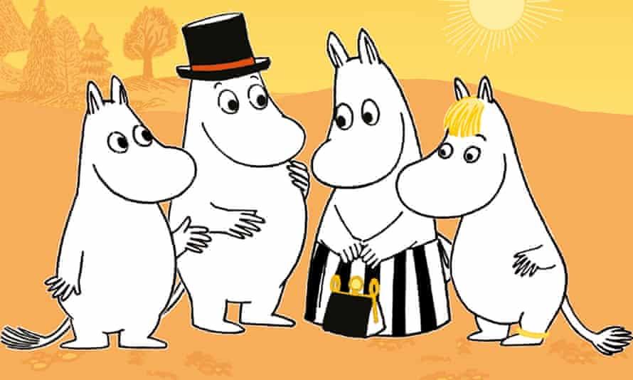 The Moomins.