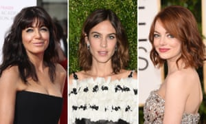 Don't Care Good Hair … Claudia Winkleman, Alexa Chung and Emma Stone