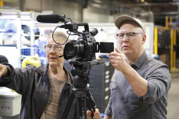 'There were frustrations and anger by the end' … film-makers Julia Reichert and Steven Bognar, who live near the reopened plant.