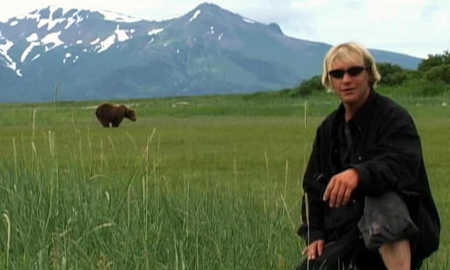 Bad news bear … Timothy Treadwell tempts fate in Grizzly Man.