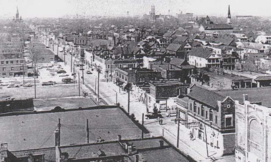 Hastings Street used to be the main road through the neighbourhood.