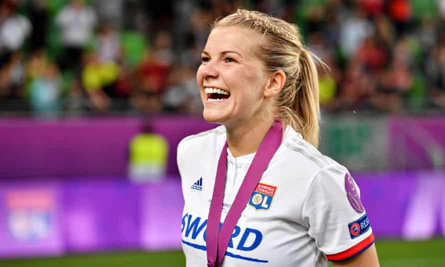 Ada Hegerberg has enjoyed huge success with Lyon, scoring a hat-trick in their 2019 Champions League triumph.