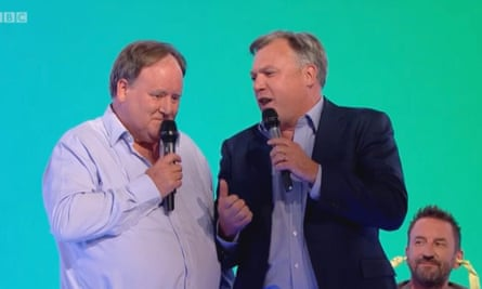 'Akin to a suicidal Darth Vader opening a vein': Ed Balls and his friend Billy on Would I Lie to You?