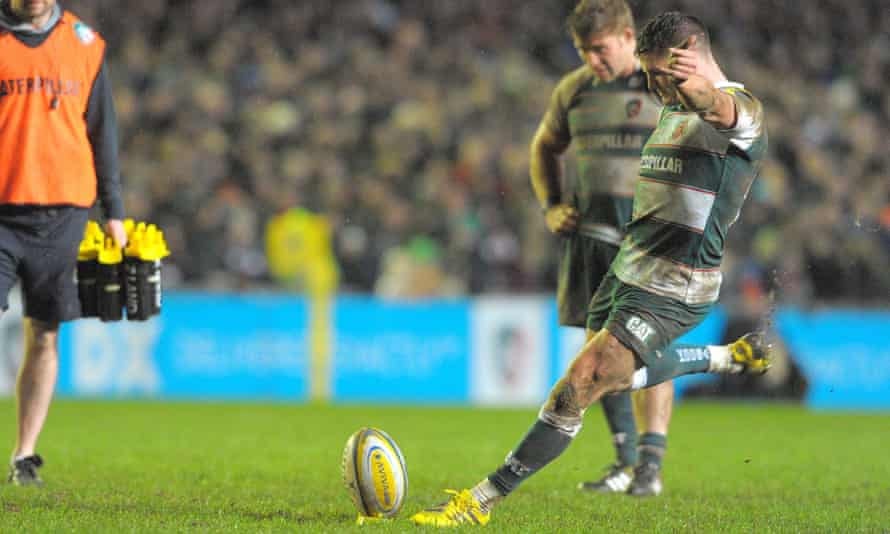 Freddie Burns seals a dramatic win for Leicester with his last-minute penalty.