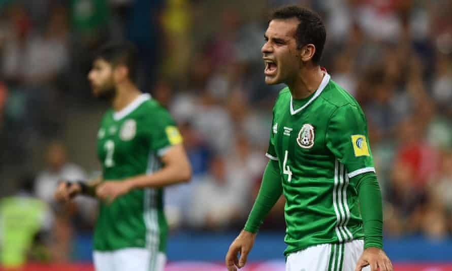 Rafael Marquez represented Mexico at June's Confederations Cup