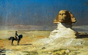 General Bonaparte in Egypt, 1867, by Jean-Leon Gerome.