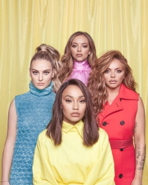 Girl band Little Mix shot for an interview in the magazine