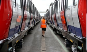 New carriages for London Underground