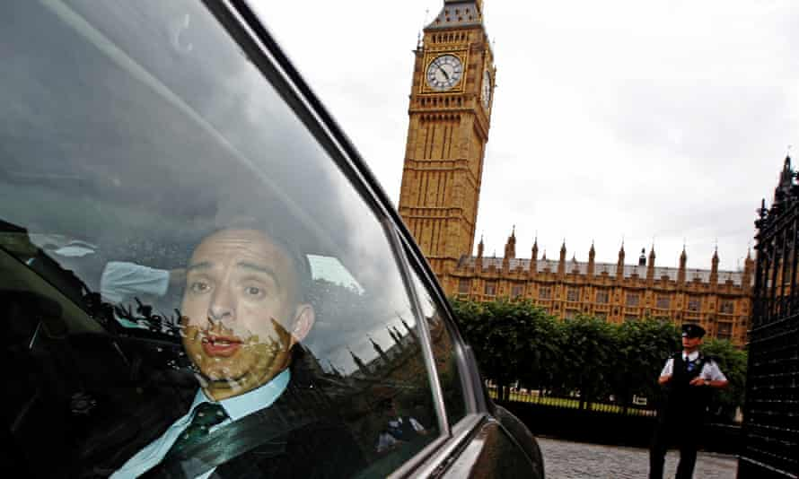 Mark Sedwill leaves the Houses of Parliament
