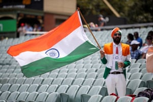 Patriotic tailoring in Adelaide Oval's stands.