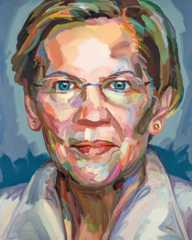 Elizabeth Warren, 2019, by Jo Hay