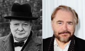 Brian Cox is set to play Winston Churchill.