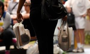 plastic supermarket shopping bag