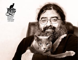 Calendar put together by an Orthodox news website features 12 priests relaxing with their cats.