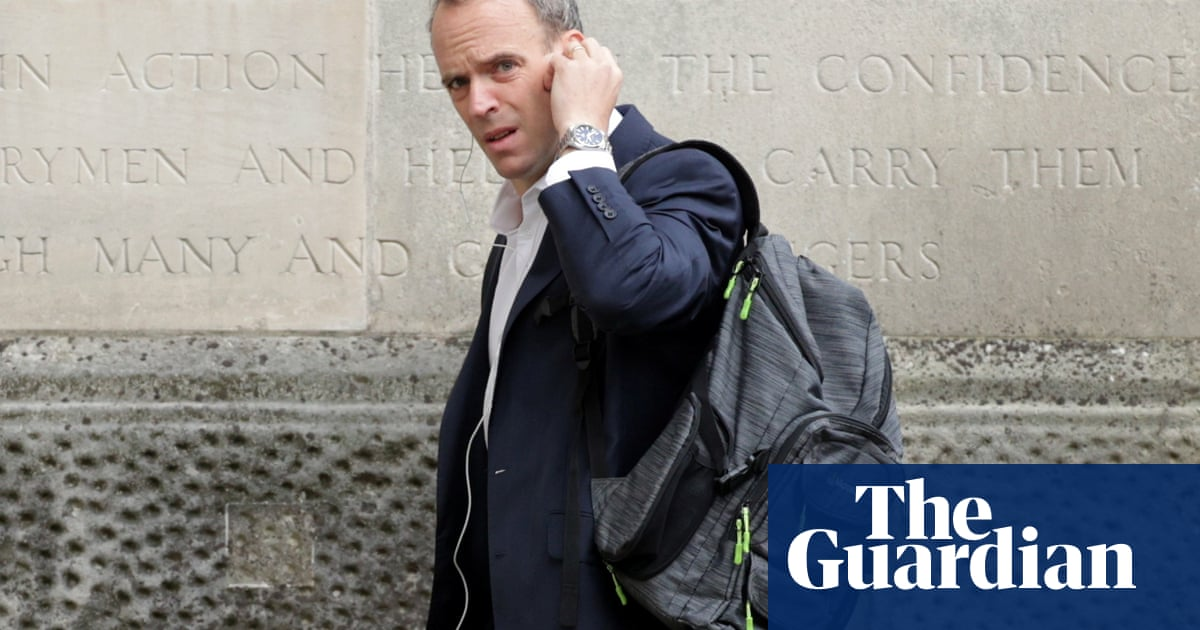 Why is Dominic Raab facing calls to resign as foreign secretary?