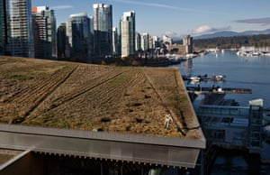 roof of the Vancouver Convention Centre