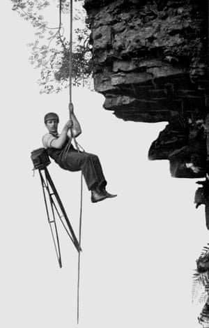 'A perilous descent'