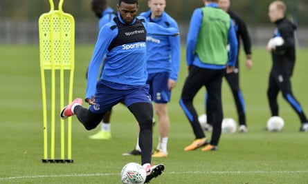 Everton training session at USM Finch Farm