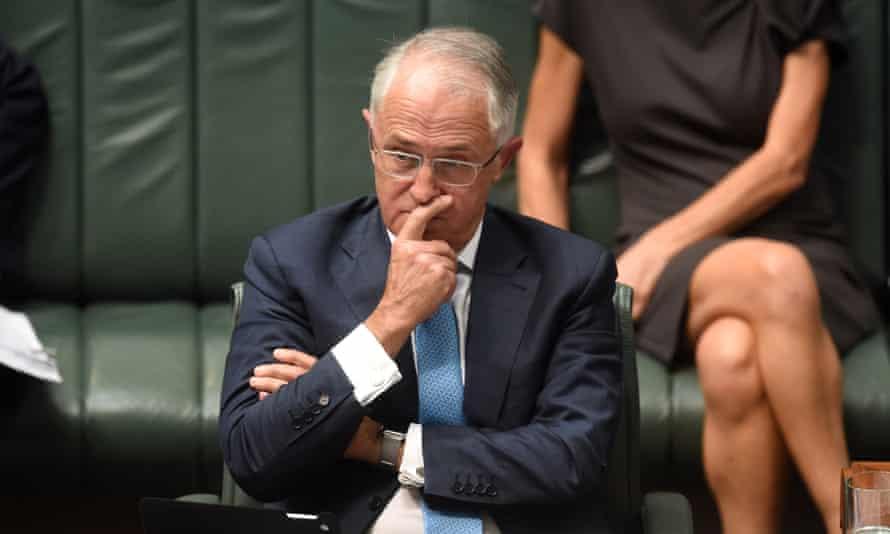Malcolm Turnbull Greens deal