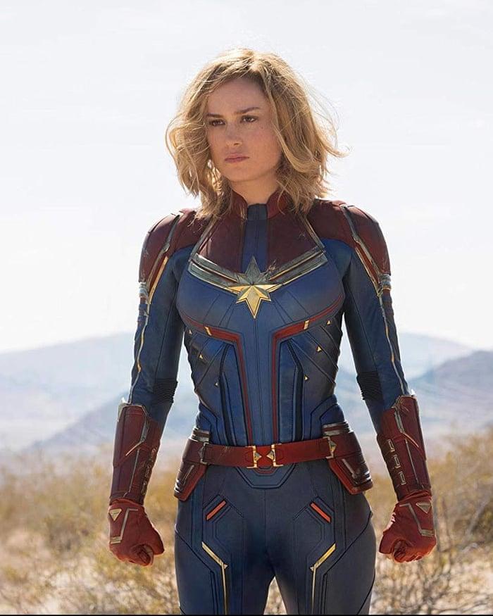 Captain Marvel First Trailer For Female Led Superhero Movie