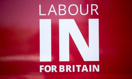 The 'Labour In For Britain' bus logo.