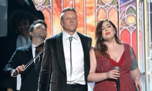Macklemore and Mary Lambert will be performing the song Same Love at the NRL grand final despite objections from some Australian politicians.