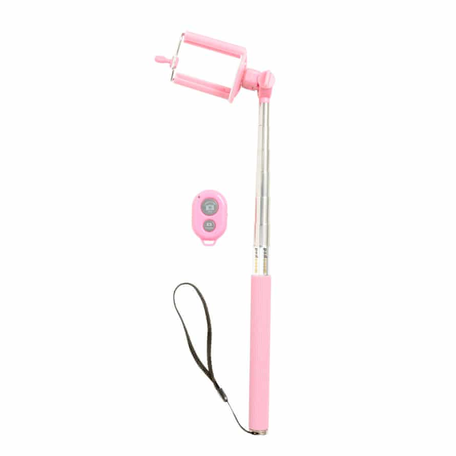 A selfie stick worthy of Chanel Number 3. £14.99, H & M.
