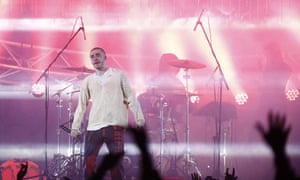 Russian rapper Husky gives concert in Moscow, but some of his other concerts have been cancelled.